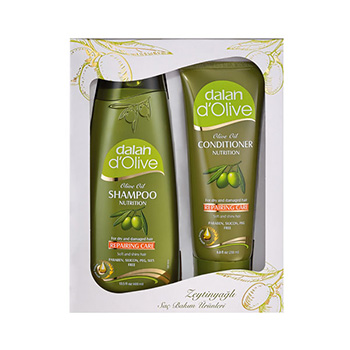 Dalan d'Olive Shampoo conditioner cadeauset