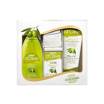 Dalan d'Olive Liquid Soap cadeauset