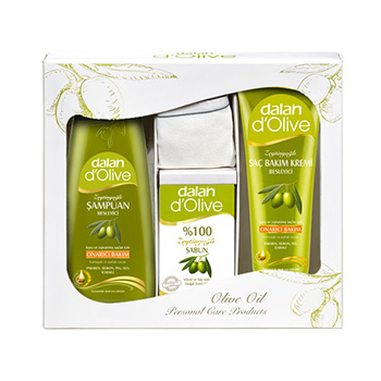Dalan d'Olive Shampoo cadeauset